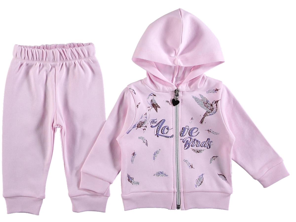 Костюм на девочку 307570 розового цвета