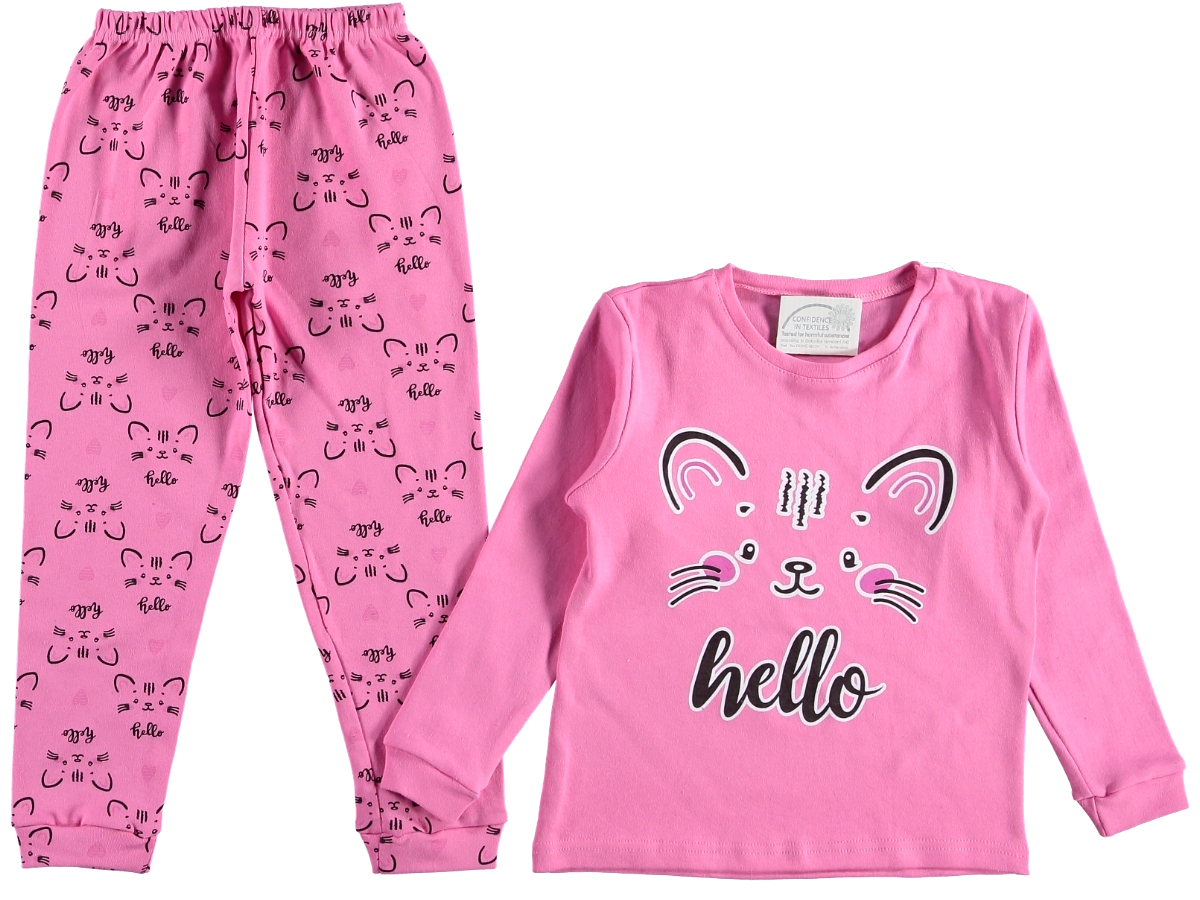 Пижама детская фуксия 315697