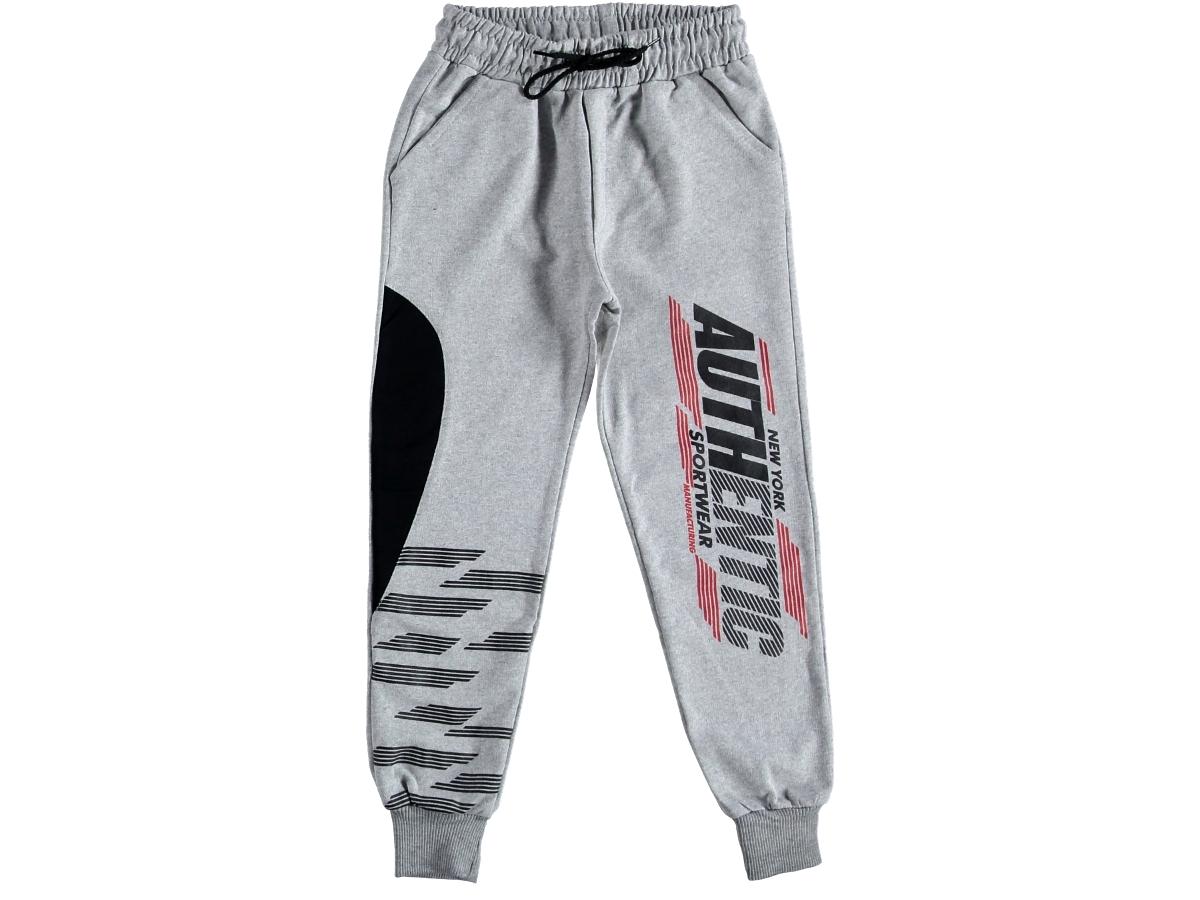 Спортивные штаны на мальчика серый 316026