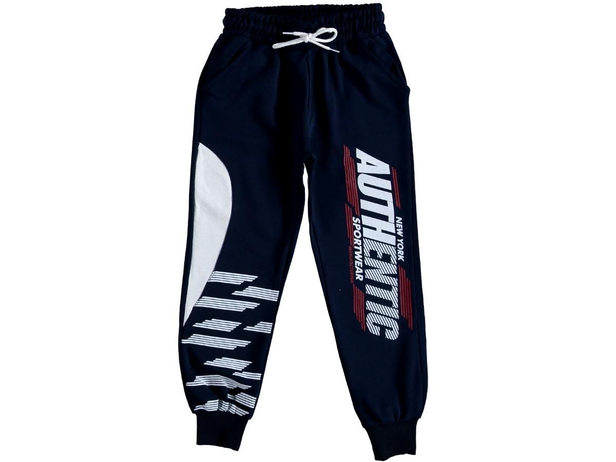 Спортивные штаны на мальчика тёмно-синий 316026