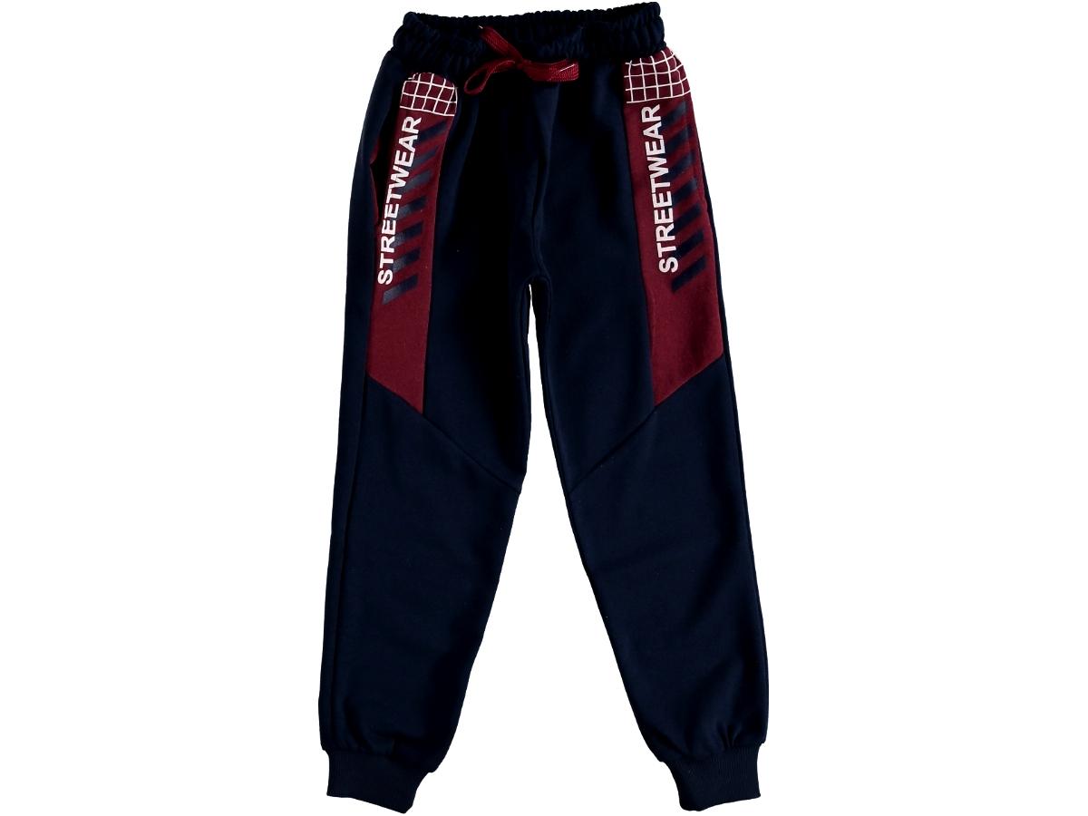 Спортивные штаны на мальчика тёмно-синий 315859