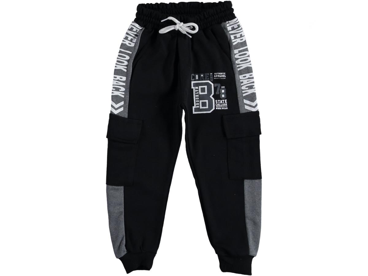 Спортивные штаны 9/12 лет черный 317617